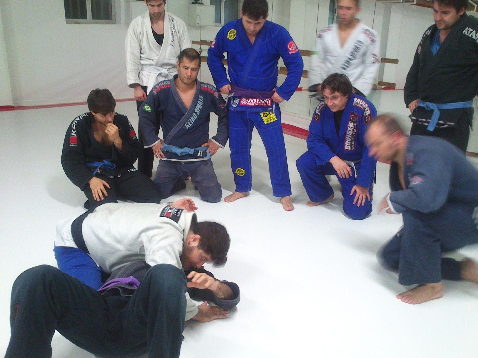 Estructura de una clase en Checkmat Bjj Madrid