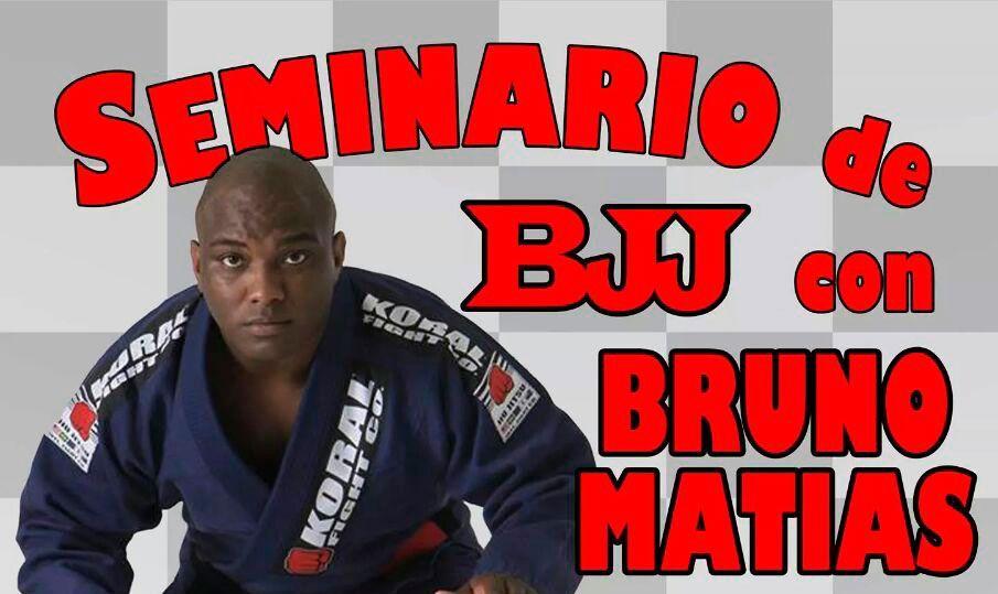 SEMINARIO DE BRUNO MATIAS EN CHECKMAT MADRID BJJ