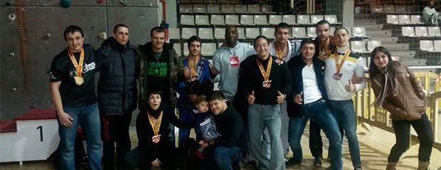 Exito de checkmat madrid bjj en el VI Open de España de la AEBJJ