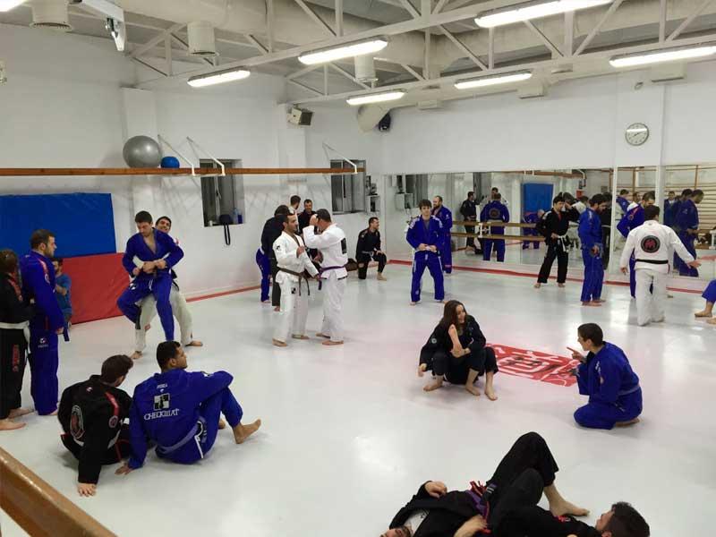 clases de jiu jitsu en madrid -  calentamiento