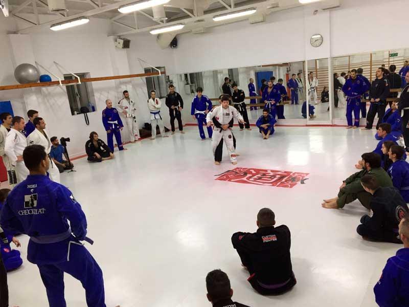 clases de jiu jitsu en madrid - tecnica