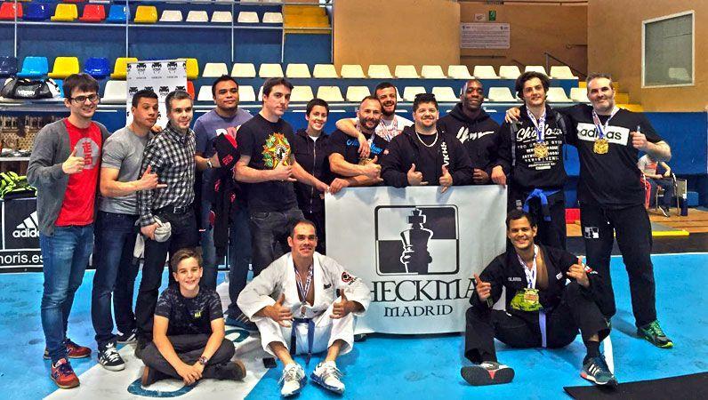 Grandes Resultados de Checkmat BJJ Madrid en el II Desafio Samurai