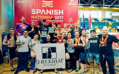 CheckMat BJJ Madrid Campeón en el Spanish Open de la IBJJ