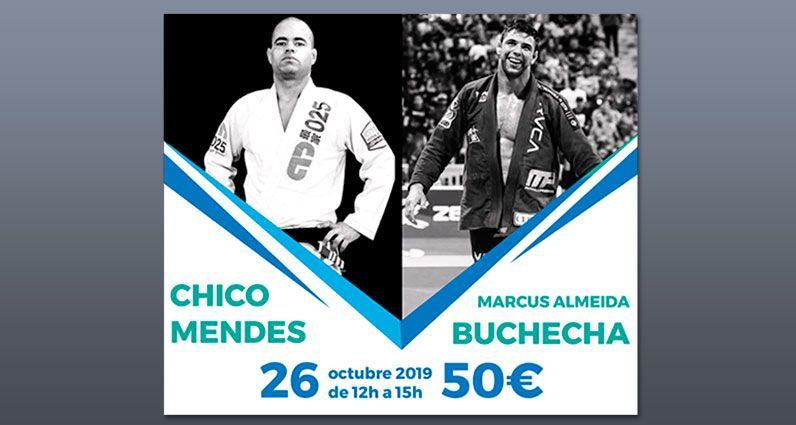 Nuevo Seminario de Jiu Jitsu con Buchecha y Chico Mendes